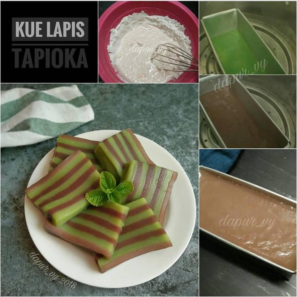 Resep Kue Lapis Tapioka