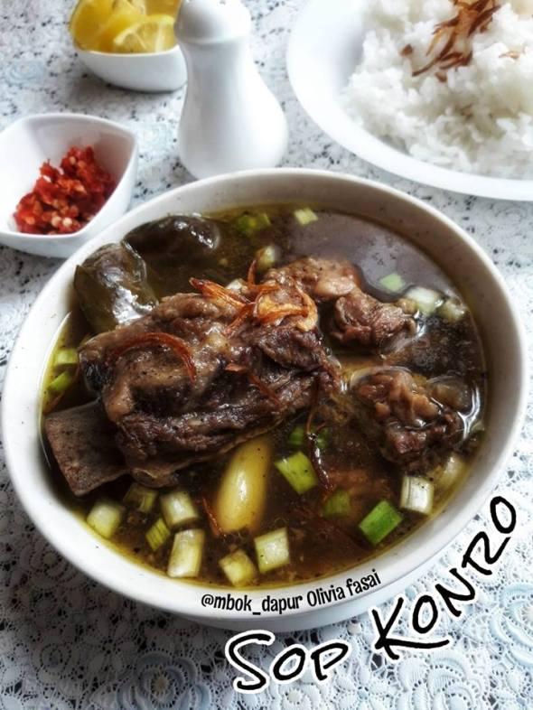 Resep Sup Konro