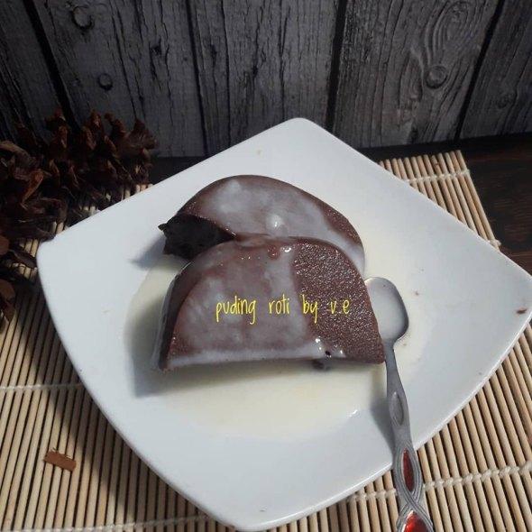 Resep Puding Roti Sederhana