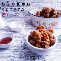 Resep Ayam Goreng Popcorn Pedas